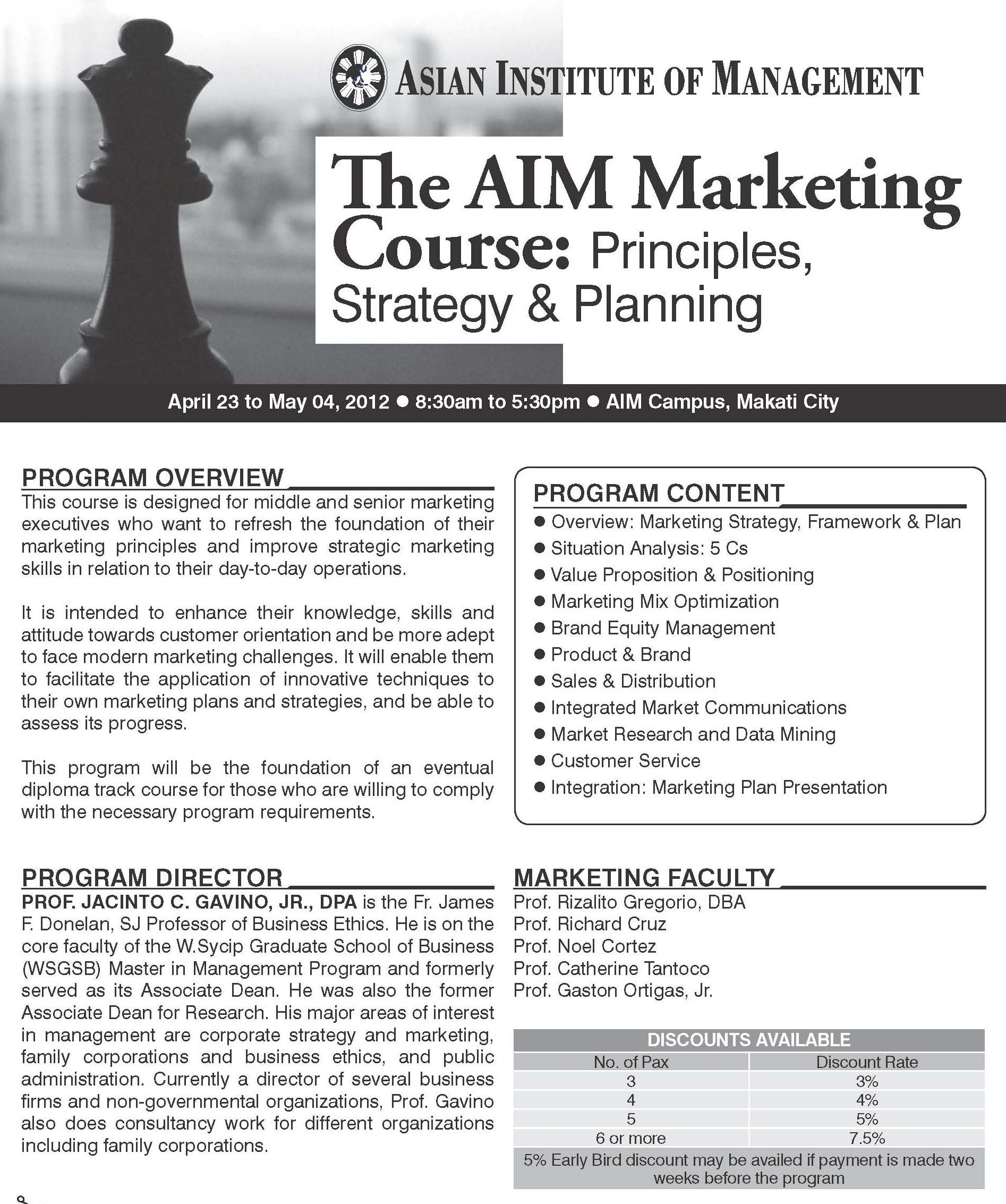 principles of marketing course 101 Collegewide course outline of record mkt 101, principles of marketing course title: principles of marketing course number: mkt 101 prerequisites: demonstrated competency through appropriate.