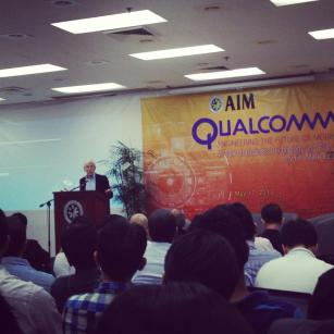 Dr. Epstein from Qualcomm in AIM